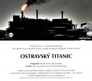 Pozvánka Ostravský Titanic
