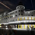 Ostravský Hotel Palace se bourat nebude, změní se na studentský kampus. Ivana Lesková, IDnes 18.4.2013