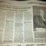 Rozhovor Ladislava Kesnera v Moravskoslezském deníku, 25. 3. 2013
