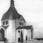 Kubistické krematorium v Ostravě - základní kámen byl položen přesně před devadesáti lety