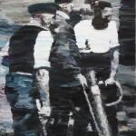 Recenze kurátora Petra Vaňouse na výstavu Pavla Šmída v pražské Galerii U Prstenu