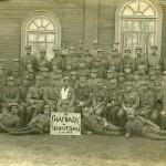 Ostravský legionář Hořínek na Vltavě