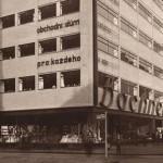 Jediný dům světového architekta Mendelsohna v Česku -  - obchodní dům Bachner v Ostravě -  chátrá. Zdroj: lidovky.cz, 27.2.2014