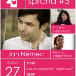 Literární sprcha s Janem Němcem na Dole Michal
