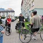 Poetické atentáty - okrášlení ulice Jaromíra Šavrdy 27.5.2014