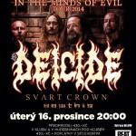 Americká deathmetalová legenda Deicide v ostravském Barráku