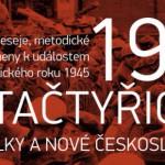 Ostravské sdružení Pant vydává další publikaci s názvemPětačtyřicátý–Konec války a nové Československo