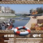 Rozmarné slavnosti u řeky Ostravice v historickém centru Ostravy