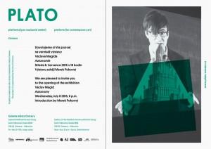 Pozvánka -Václav Magid - výstava Autonomie