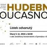 Festival Hudební současnost nabídne koncerty soudobé hudby