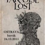 Legendární kapela Paradise Lost vystoupí v Barráku