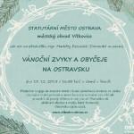 Přednáška o vánočních zvycích na Ostravsku