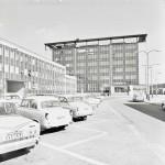 30. březen 1973 - slavnostní otevření pošty v Přívoze, postavené v bruselském stylu