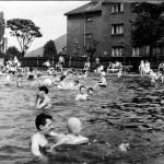 Koupaliště v Hrušově bylo slavnostně otevřeno 14. června 1931