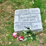 Fotoreport: Pamětní destička Evě Vláhové, 27.6. 2016