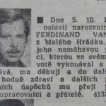 Ostravské spolky připomenou výročí Václava Havla a pokřtí Lavičku Ferdinanda Vaňka