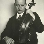 Z archivu - 6.11. 1931 Ostravu navštívil slavný violista Paul Hindemith