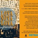 Umělec Eduard Ovčáček vydává knihu básní a textů na pomezí literatury a umění
