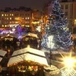 Vánoční trhy a vánoční výzdoba v centru Ostravy