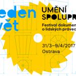 Filmový festival Jeden svět opět v Ostravě