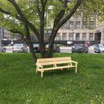 Přijďte si stlouct lavičku a nebo diskutovat o budoucí podobě náměstí Edvarda Beneše