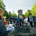 Ostravský výlet zKunčic do Výškovic přes hrabůveckou haldu a křest Mapy ostravských výletů