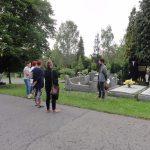 Fotoreport: Okrášlení hrobu Františka Krále